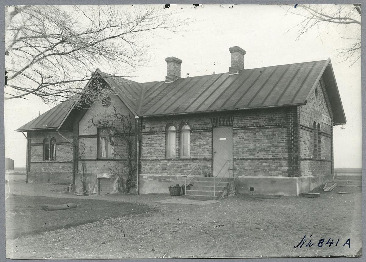 Stationshuset i Västraby