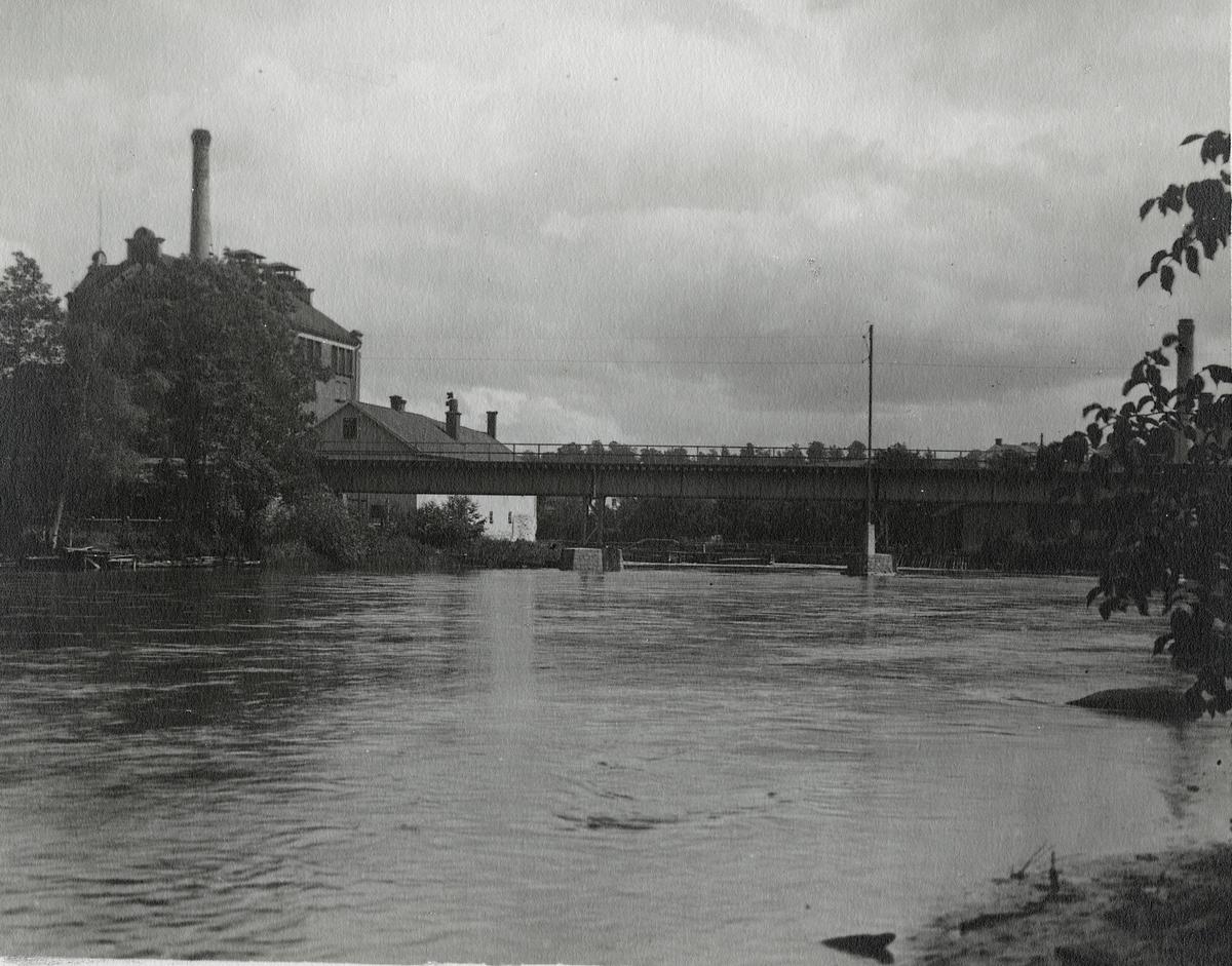 Järnvägsbron i Motala.