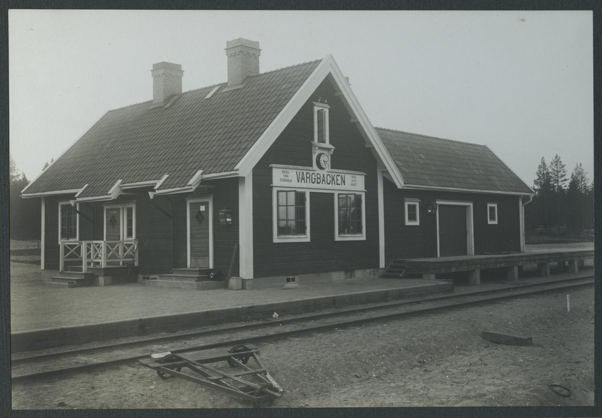 Vargbacken station