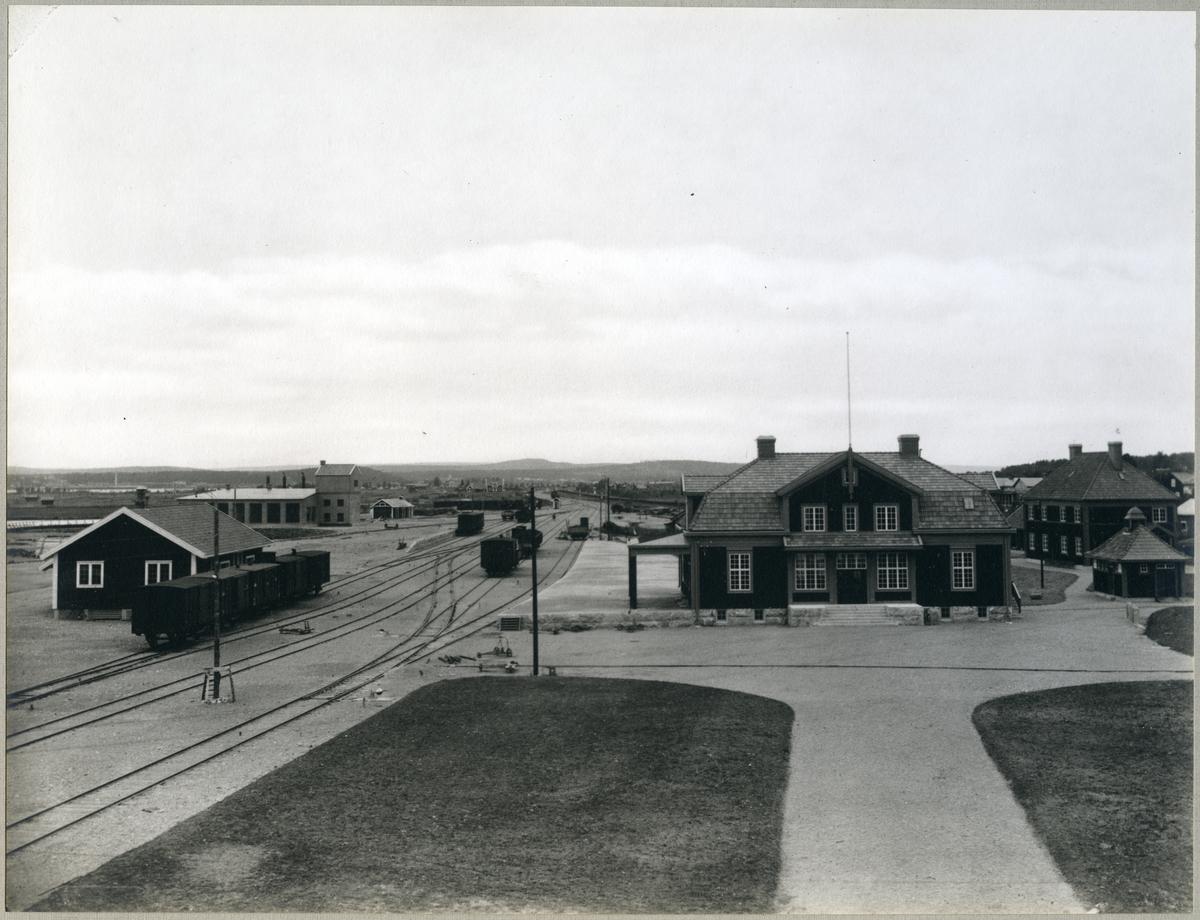 Piteå station, år 1915.
