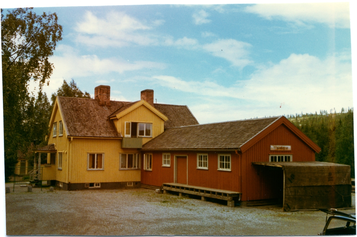 Stensele station.