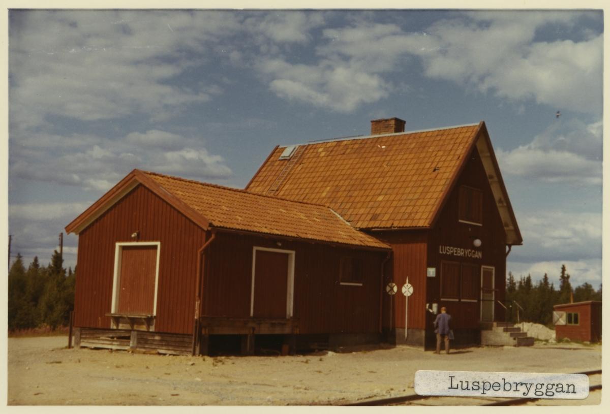 Luspebryggan station.