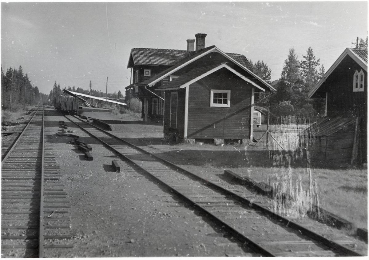 Vid Blyberg station.