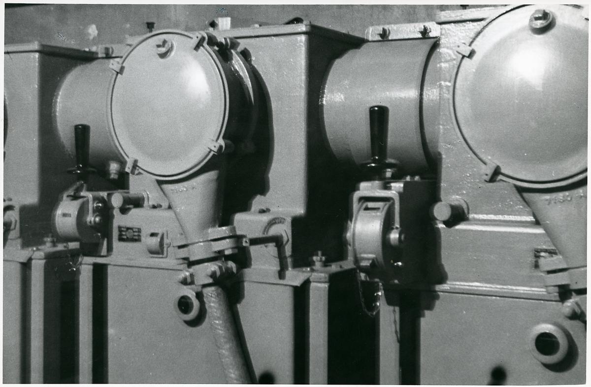 Detalj från elektrifiering.