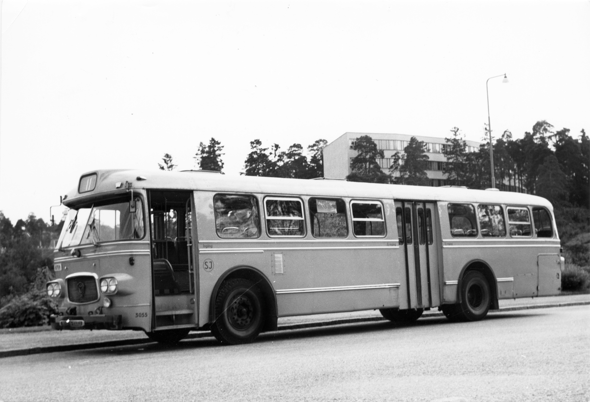 Statens Järnvägar, SJ buss 3055.