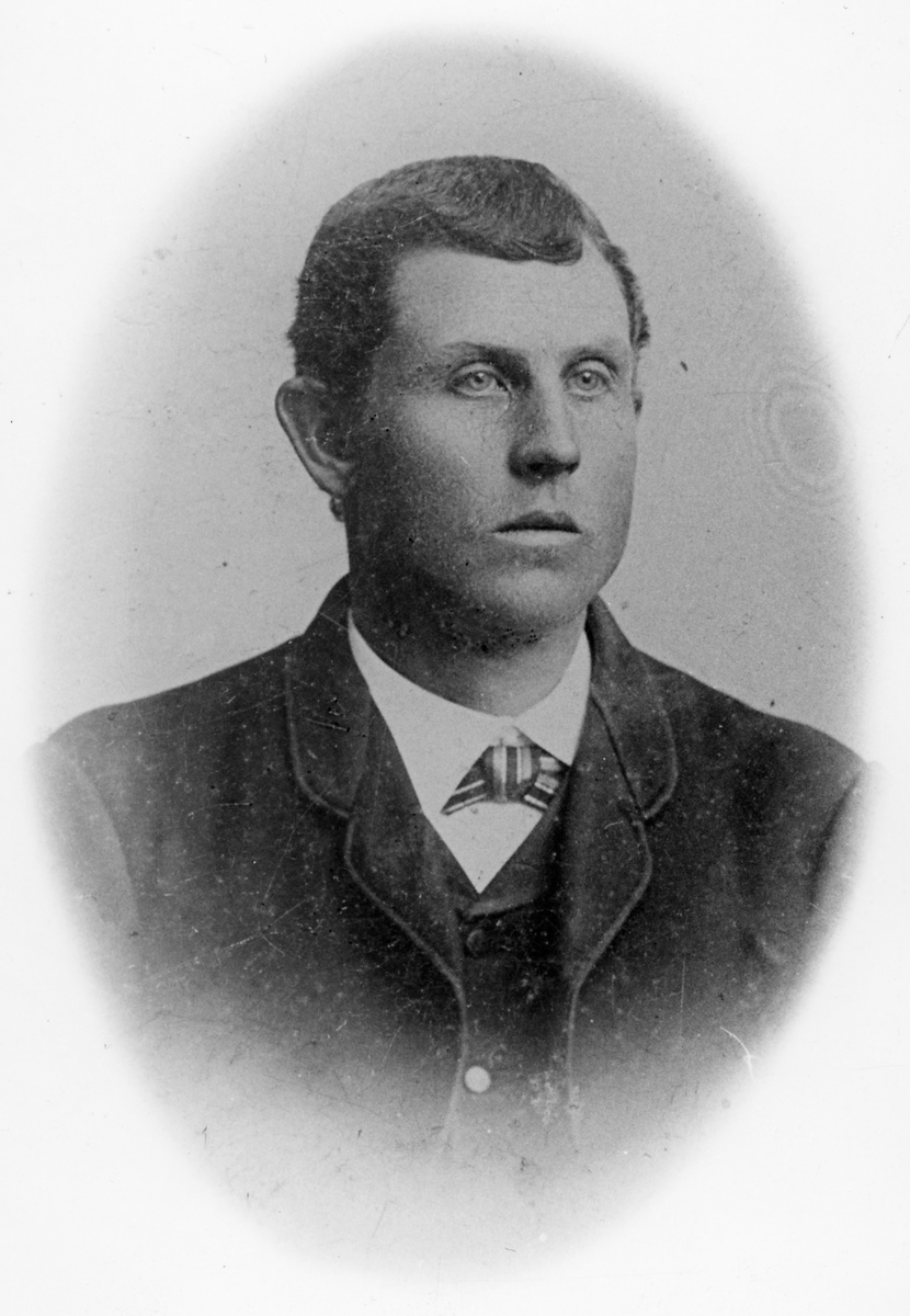 Järnvägsarbetare Carl Blom.