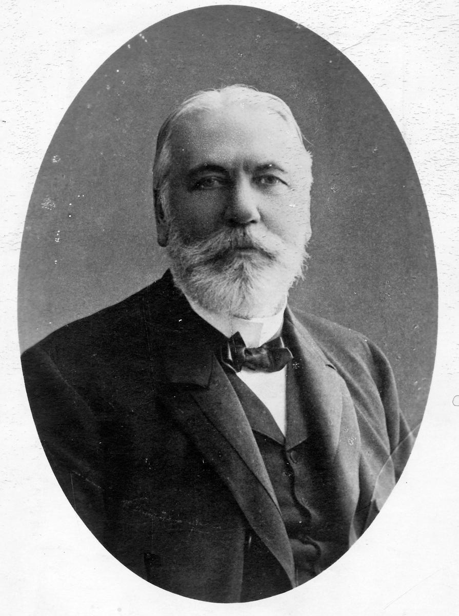 Disponent Albert Evers, styrelseordförande för Varberg-Borås järnväg.