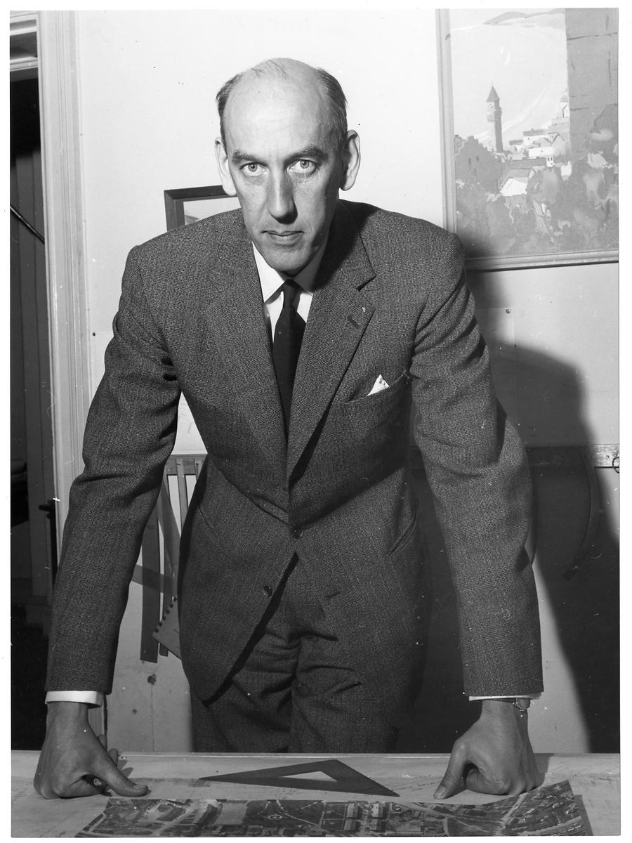 Byrådirektör Nils H.Gudmundsson.