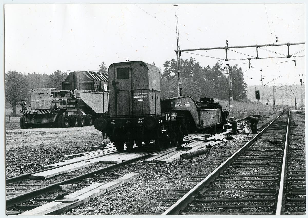 Transport av transformator från Österike till Nyköping.