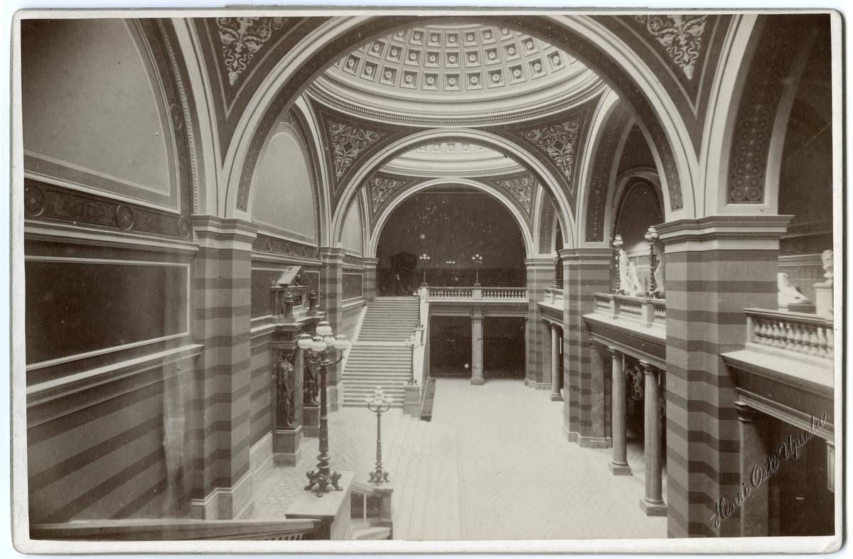 Förhallen, Universitetshuset, Uppsala 1891