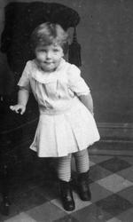 Johanne Lømo,som barn.