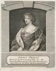 SOPHIA AMALIA / Dronning til Dannemark og Norge etc: [...] [