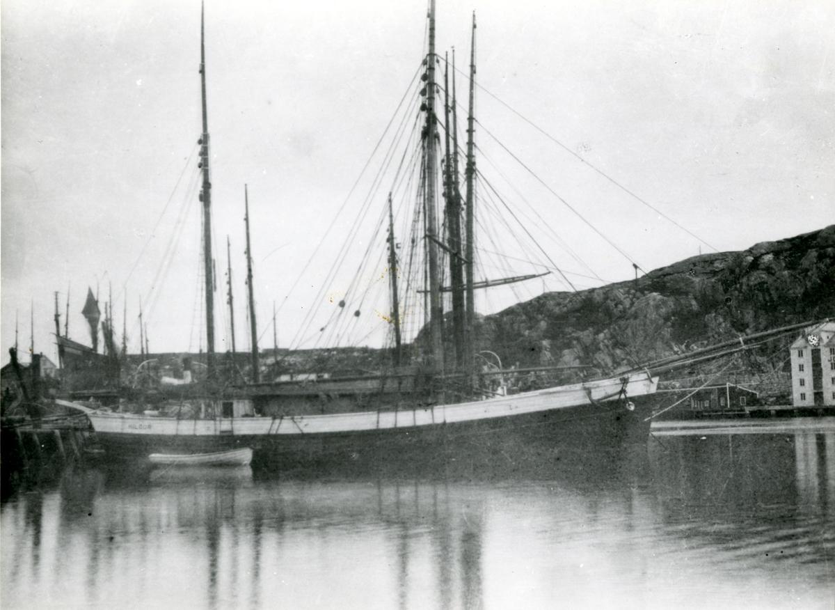 Galeas 'Hildur' (b.1894, Rosendal, Skaaluren)