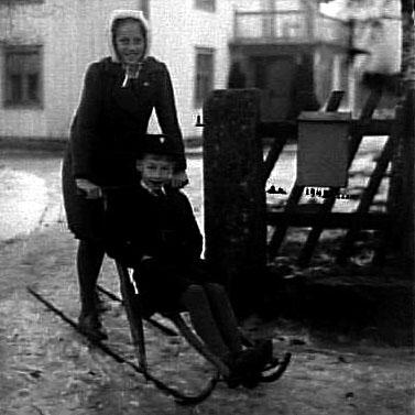 Bildtext: ÅR 1945