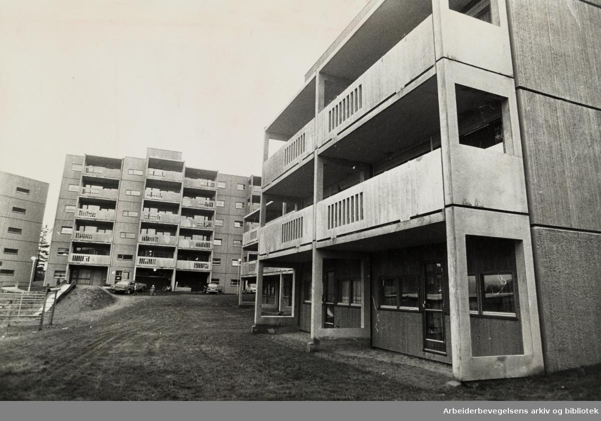 Furuset. Lindeberg-feltet. 26. september 1975