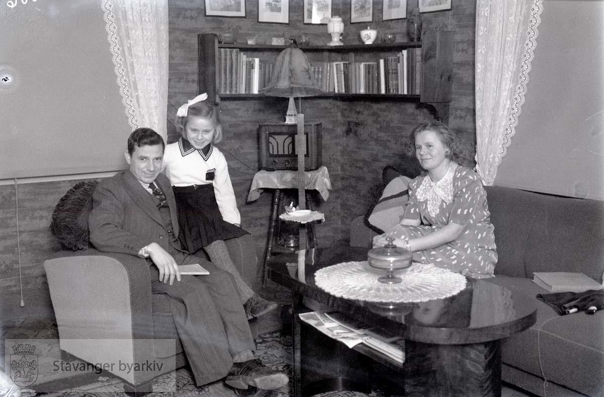 Herr Müller med familie, Jørpeland