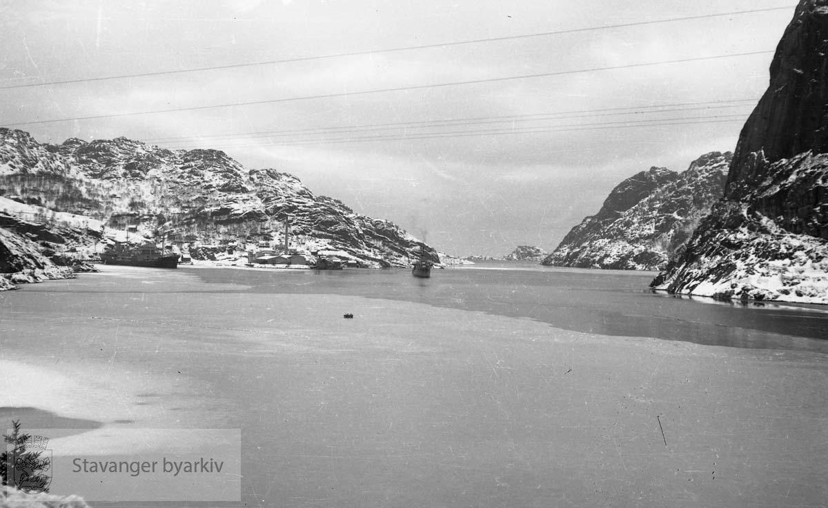 Fra Altmark-affæren i Jøssingfjord februar 1940..