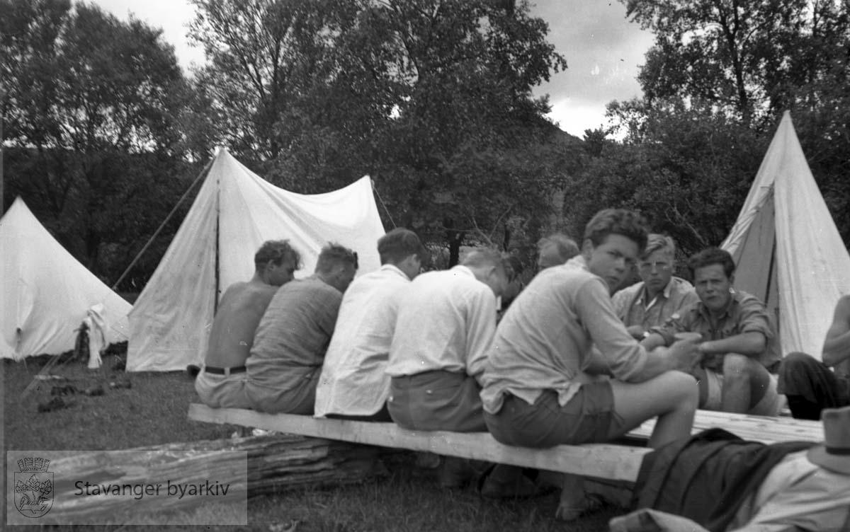 Arbeidstjenesten til Flassamyr sommeren 1940