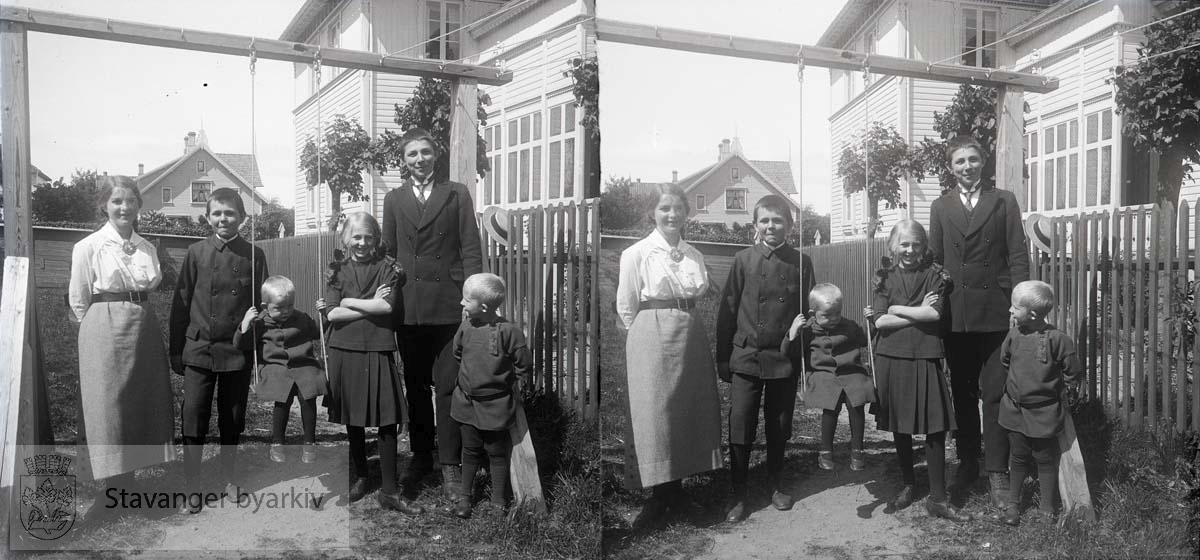 Bildet er antakelig tatt i 1915..Stereofotografi.