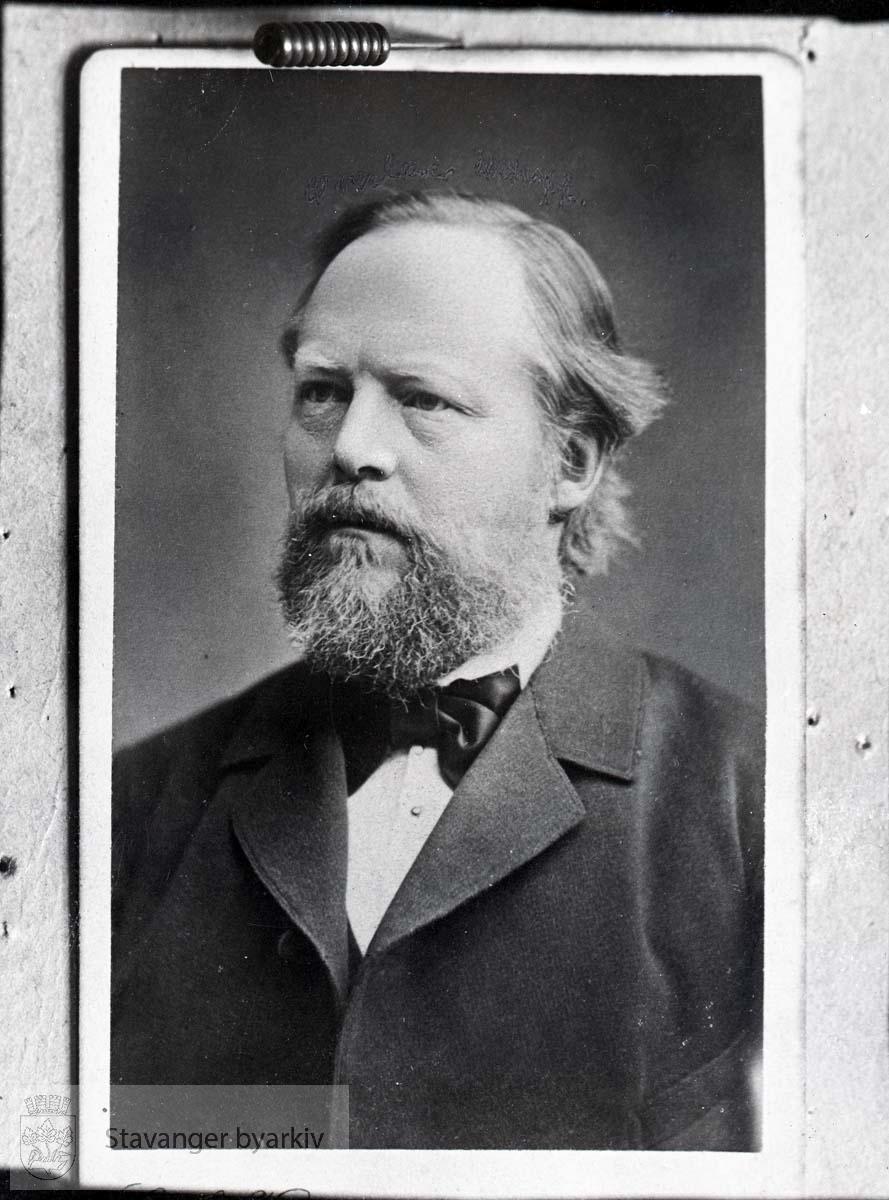 Avfotografert portrett av Wilhelm Eckhoff
