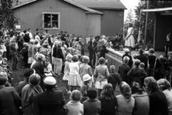 SSU anordnade två dagars festligheter i Alnö Folkets park, ä