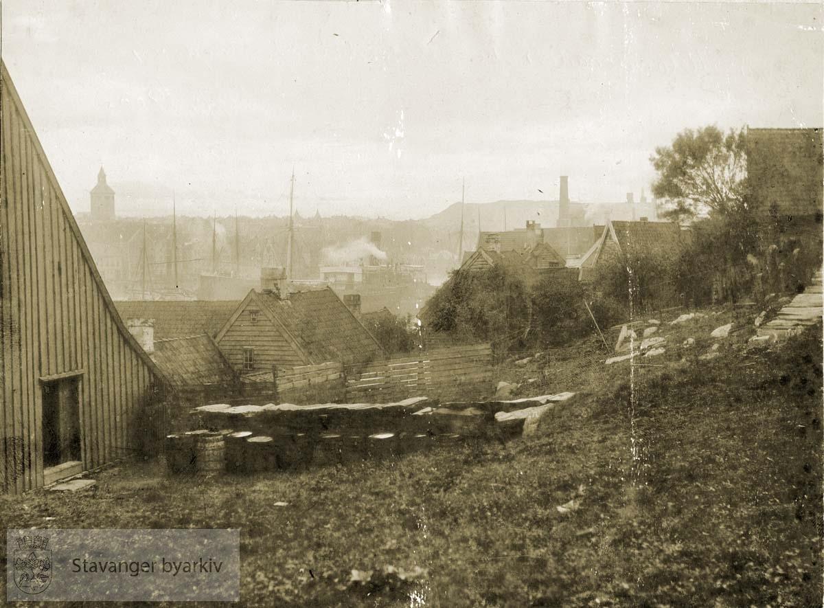 Fra Uelandsgaten ved Rosenberg, sett sydover