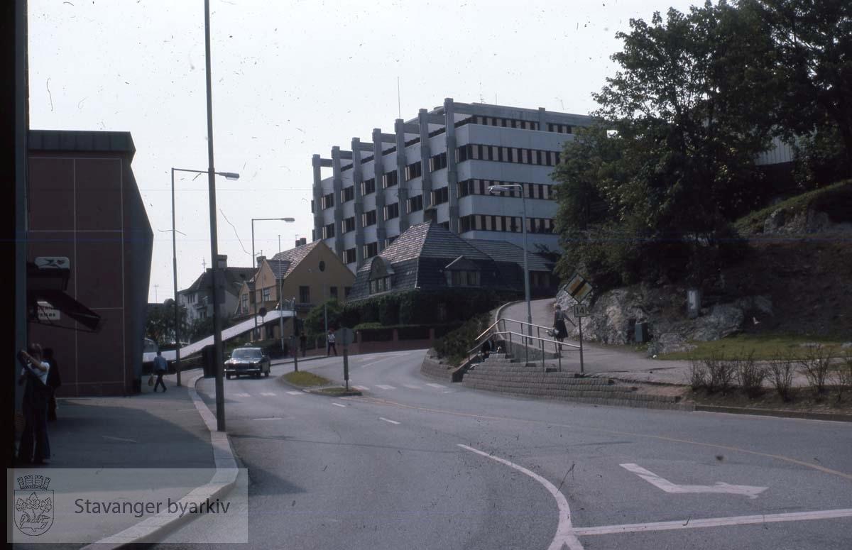 Ny Olavskleiv mot Knud Holms gate
