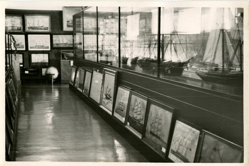 Fra Norsk Sjøfartsmuseums utstilling i Generalitetsgården. (Foto/Photo)