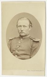 Porträtt av Johan Gustaf Staël von Holstein, officer vid Skå