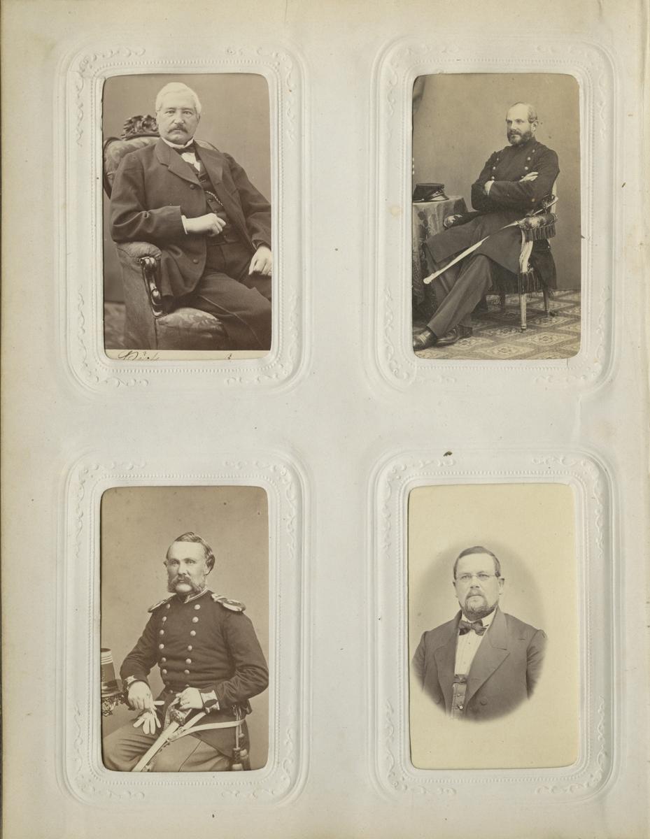 Porträtt av Pehr Theodor Hammarskjöld, officer vid Västmanlands regemente I 18.