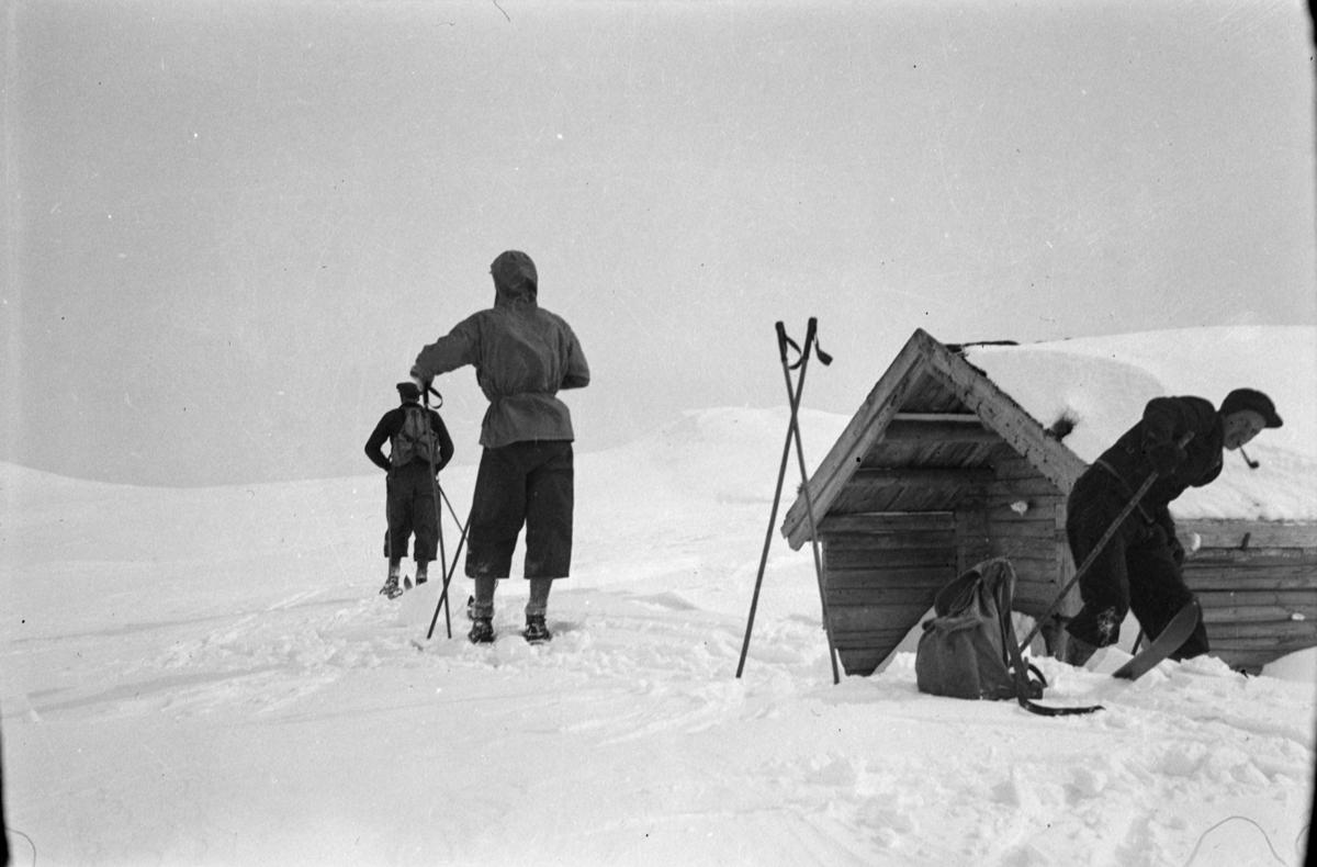 Skitur ved Svarttjønnhytta