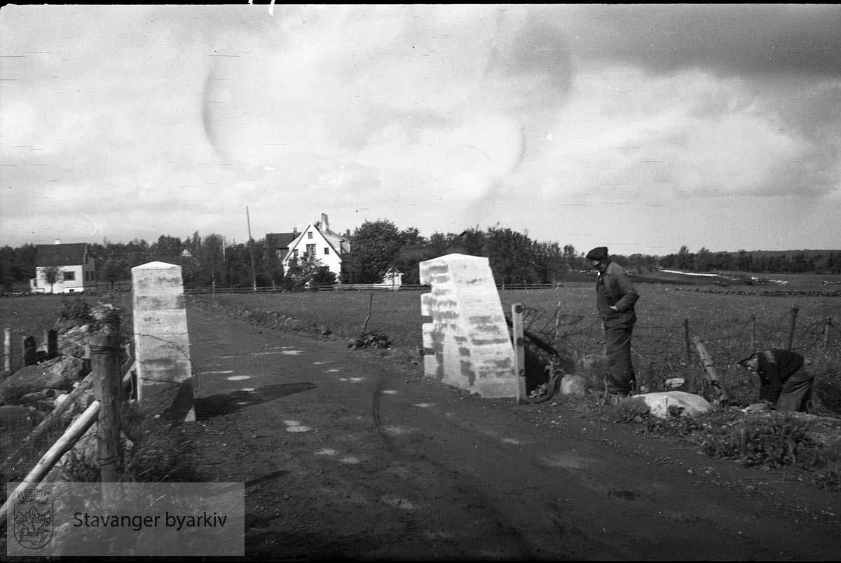 .Fotografert for Byingeniørkontoret. .Fra fredsdagene 1945.Etter frigjøringen..Frigjøringsdagene.