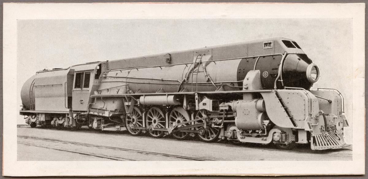New Zealand Railways, NZR J 1210.
