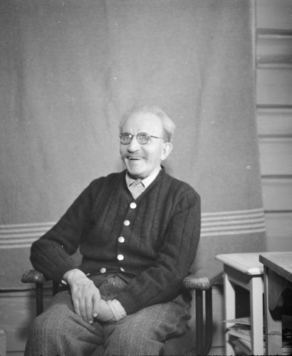 Portrett av Ivar Wold, senior