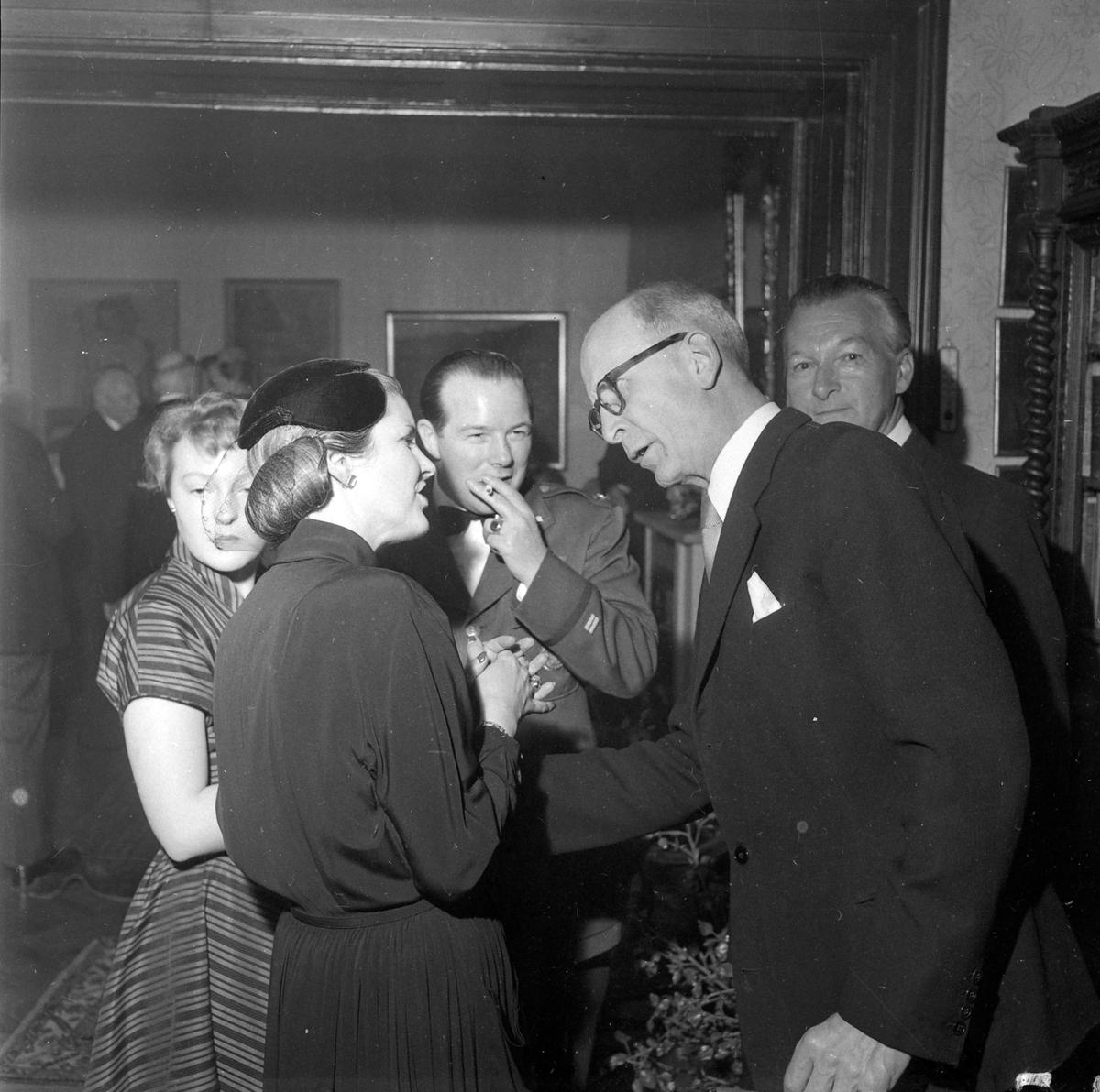 Bryllup mellom Bryhild (Bobbo) Lysholm og Henry Stanhope Brooks
