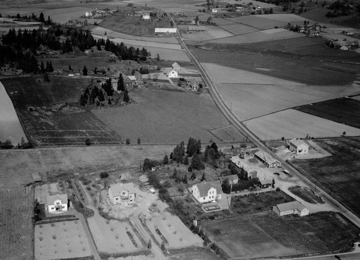 Flygfoto ver delar av lmstad by i Jnkpings kommun. Nr R