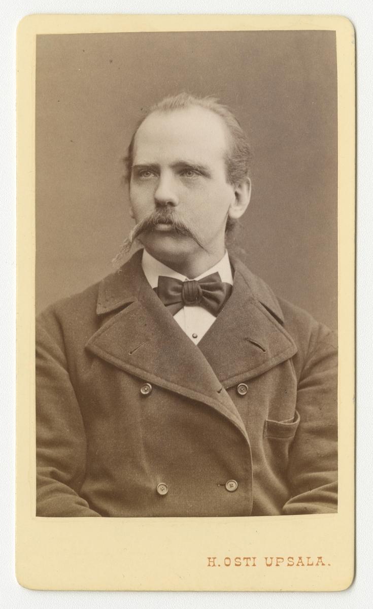 Porträtt av H. Silfversparre.