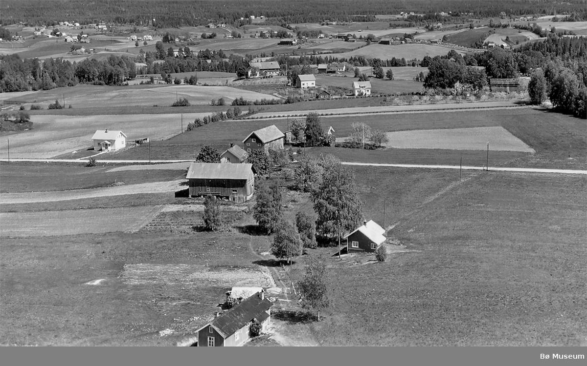 Flyfoto av Langkås på Langkåshaugen