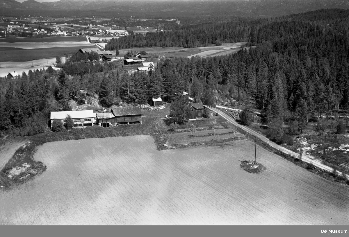 Flyfoto av Kåsa i Roevegen.