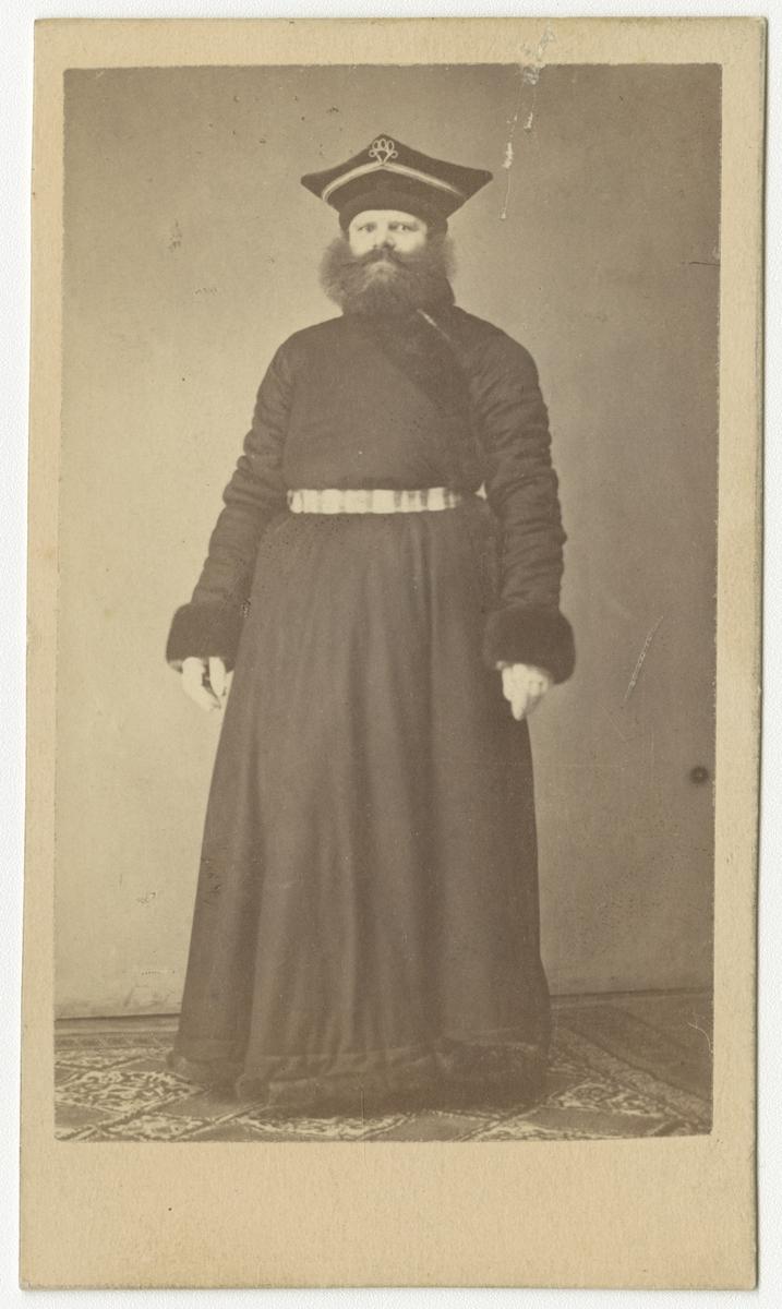 Porträtt av okänd man, möjligen rysk munk.
