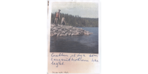 Postkort, Langsrud. Foto/Photo