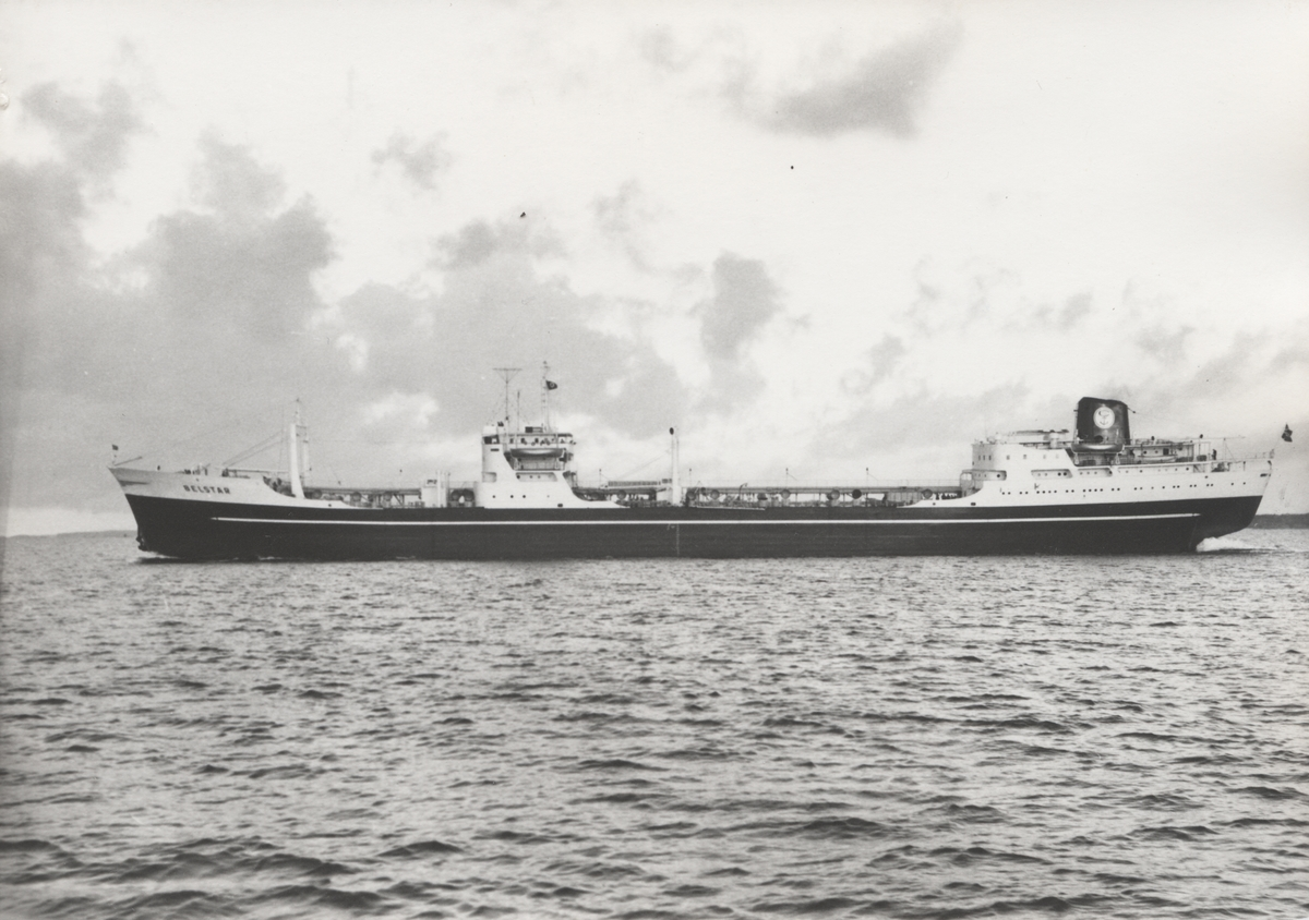 M/T 'Belstar' (b.1958)(A/S Fredriksstad mek. Verksted, Fredrikstad)