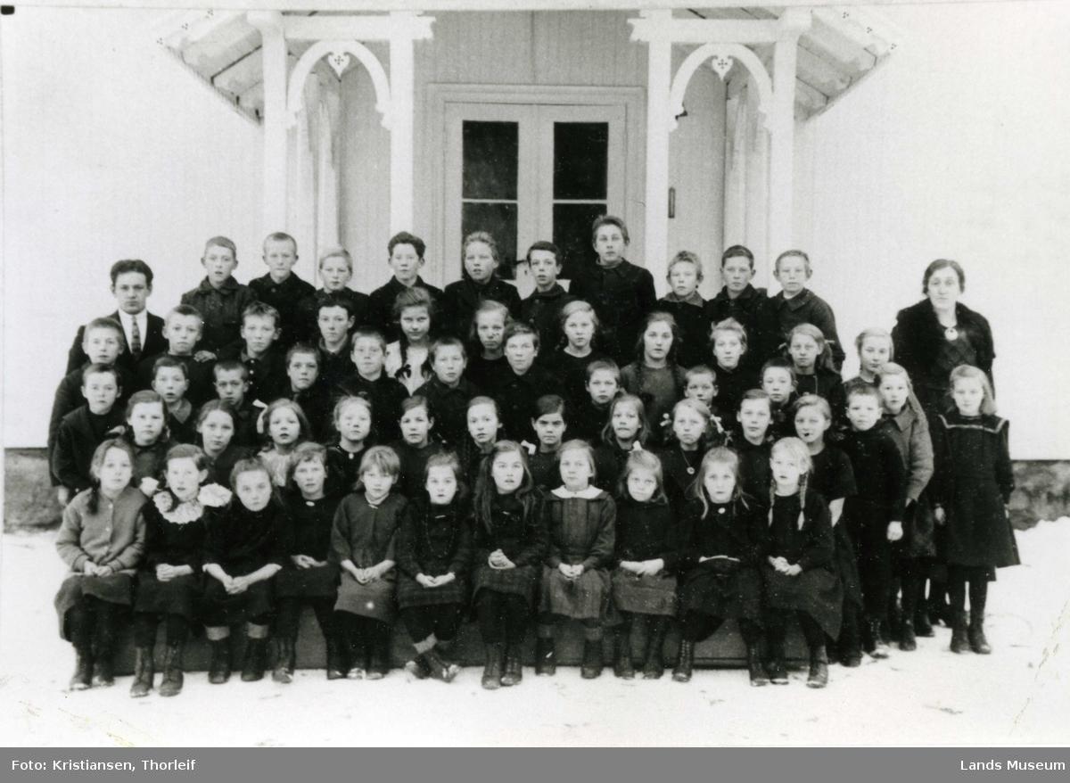 Skogvang Skole, Nordre Land.