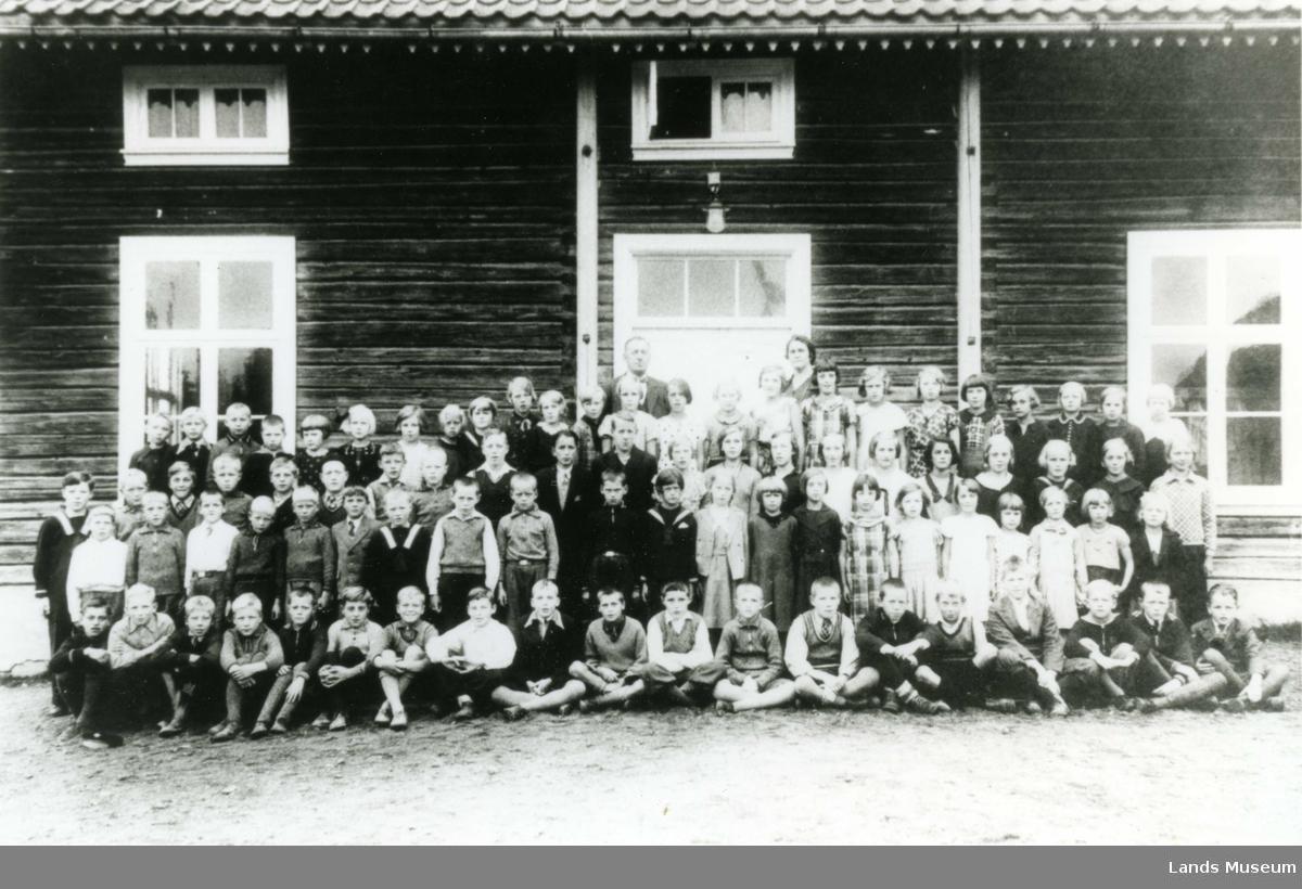 Vestheim skole 1933-34