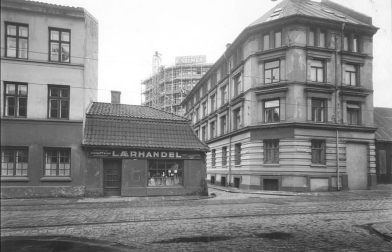 Hjørnet av Vognmannsgata og Persgangen (Foto/Photo)