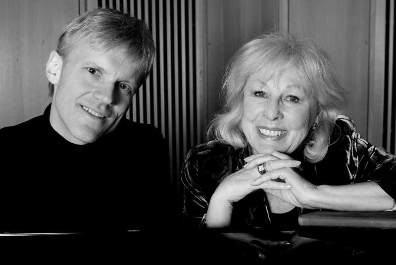 Lise Fjeldstad og Håvard Gimse, svart-hvitt (Foto/Photo)