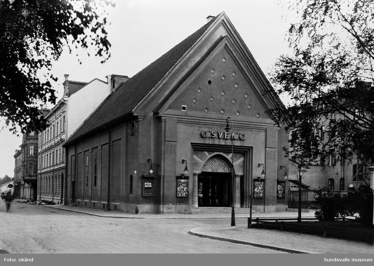 Svea-biografen, Esplanaden 15.