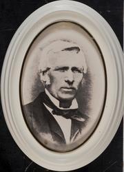 Portrettbilde av Anders J. Hurum født på Hurum gård i Hole k