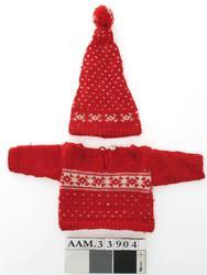 Dukkejakke, strikket
