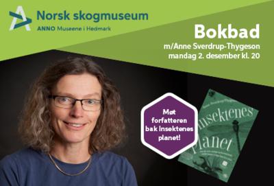 Bokbad med Anne Sverdrup-Thygeson